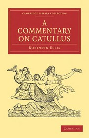 Cover of: A commentary on Catullus