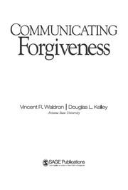 Cover of: Communicating forgiveness | Vincent R. Waldron