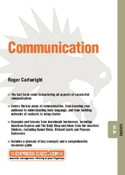 Cover of: Communication | Roger Cartwright