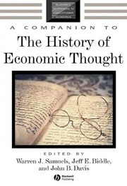 Cover of: A companion to the history of economic thought
