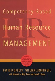 Cover of: Competency-based human resource management |