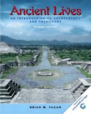Cover of: Ancient lives