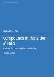 Cover of: Compounds of Transition Metals