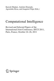 Cover of: Computational Intelligence | Kurosh Madani