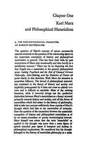 Cover of: The Concept of Nature in Marx