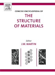 Cover of: Concise encyclopedia of the structure of materials | J. W. Martin