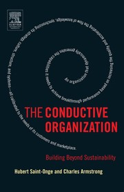 Cover of: The conductive organization | Hubert Saint-Onge