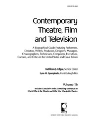 Cover of: Contemporary theatre, film and television
