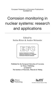 Cover of: Corrosion monitoring in nuclear systems | Stefan Ritter