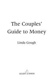 Cover of: The couples' guide to money