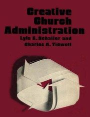 Cover of: Creative church administration