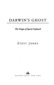 Cover of: Darwin's ghost | Jones, Steve