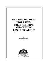 Cover of: Day trading with short term price patterns and opening range breakout