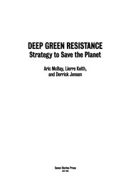 Cover of: Deep green resistance | Aric McBay