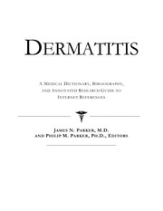Cover of: Dermatitis | James N. Parker