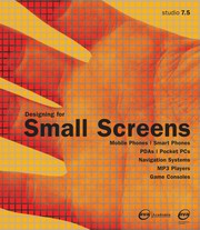 Cover of: Designing for Small Screens | Carola Zwick