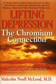 Cover of: Lifting Depression | Malcolm Noell, M.D. Mcleod
