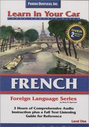 Cover of: French Level One (Learn in Your Car)
