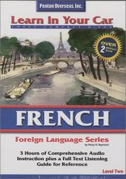 Cover of: French Level Two (Learn in Your Car)