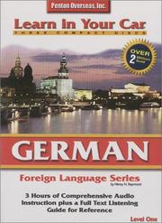 Cover of: German Level One (Learn in Your Car)