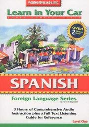 Cover of: Spanish Level One (Learn in Your Car)