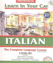 Cover of: Italian Complete: The Complete Language Course : 3 Level Set