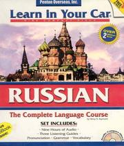 Cover of: Learn in Your Car Russian Complete