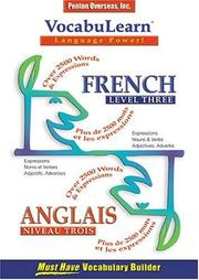 Cover of: Vocabulearn French