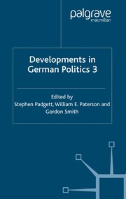 Cover of: Developments in German politics 3 |