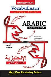 Cover of: Arabic