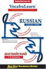 Cover of: Vocabulearn Russian