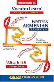 Cover of: Vocabulearn Western Armenian