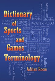 Cover of: Dictionary of sports and games terminology