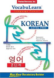 Cover of: Vocabulearn Korean