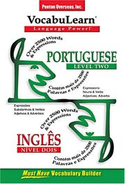 Cover of: Portuguese/ Ingles