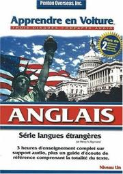 Cover of: Apprendre En Voiture Anglais Niveau Level 1 (Learn in Your Car)