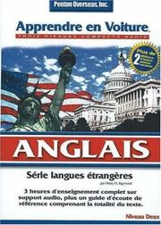 Cover of: Apprendre En Voiture Anglais (Learn in Your Car)