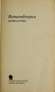 Cover of: Remembrance | Danielle Steel