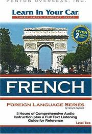 Cover of: Learn in Your Car French Level Two (Learn in Your Car)