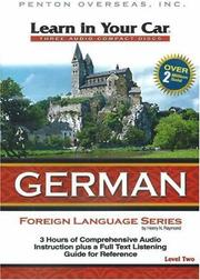 Cover of: Learn in Your Car German Level Two (Learn in Your Car)