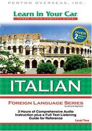 Cover of: Learn in Your Car Italian Level Two (Learn in Your Car)