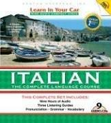 Cover of: Learn in Your Car Italian Complete (Learn in Your Car)