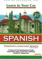 Cover of: Learn in Your Car Spanish Level Two (Learn in Your Car)