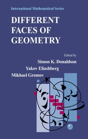 Cover of: Different faces of geometry