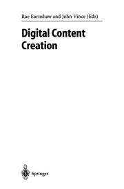 Cover of: Digital Content Creation | Rae Earnshaw