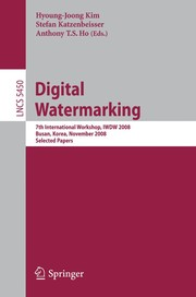 Cover of: Digital Watermarking | Hyoung Joong Kim