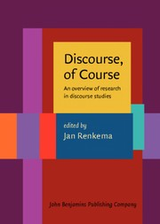Cover of: Discourse, of course |