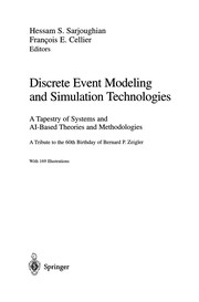 Cover of: Discrete Event Modeling and Simulation Technologies | Hessam S. Sarjoughian