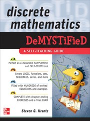 Cover of: Discrete mathematics DeMYSTified | Steven G. Krantz