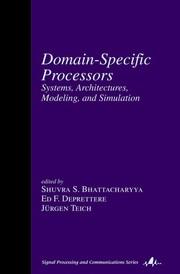 Cover of: Domain-specific processors |
